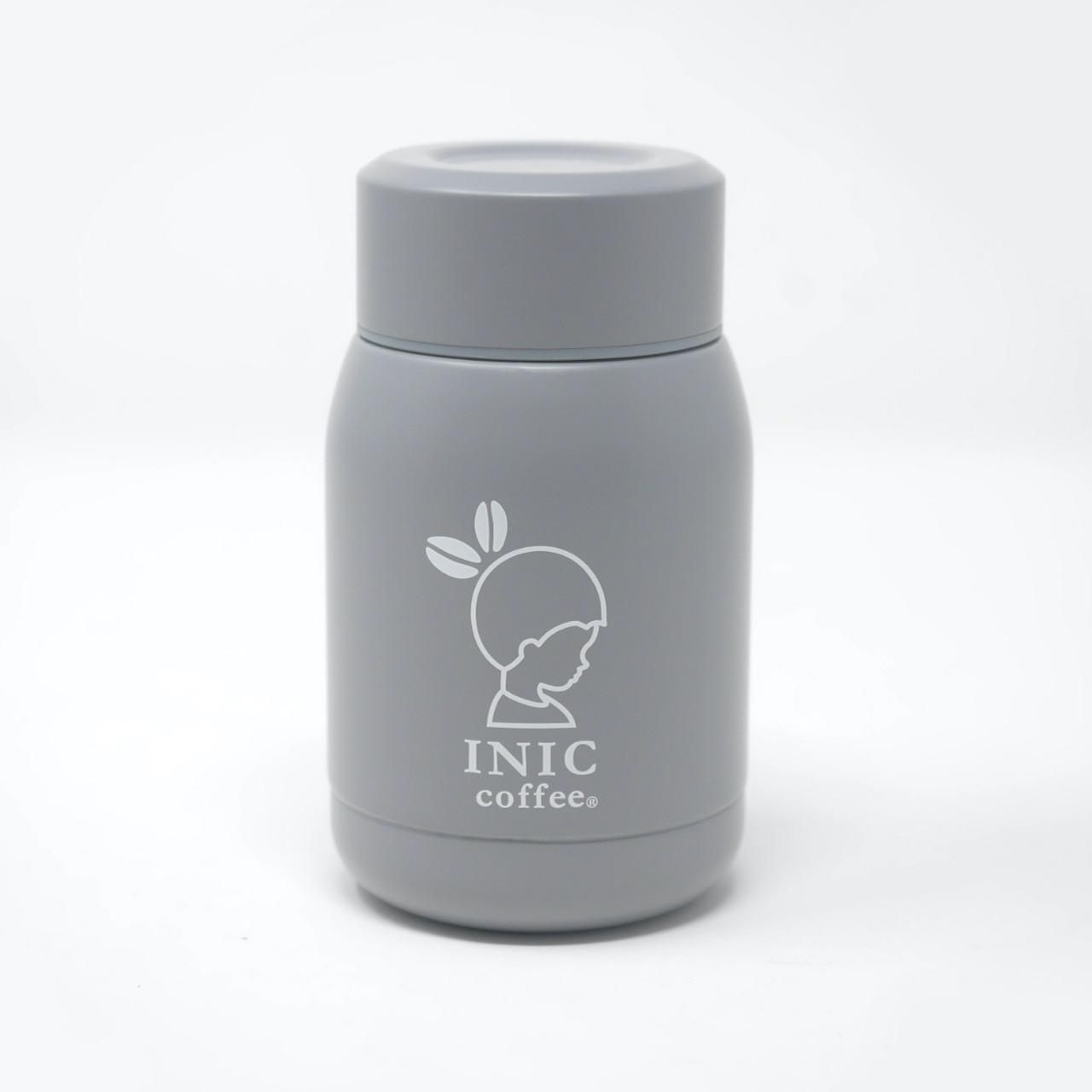 INIC×カフア ステンレスボトル グレー