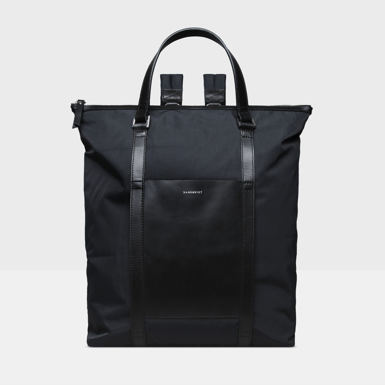 サムネイル:SANDQVIST サンドクヴィスト MARTA Black with Black Leather