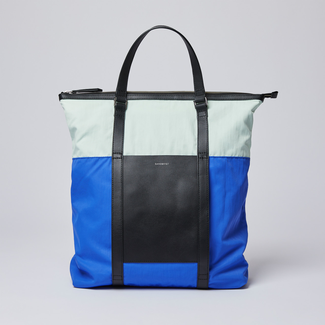 サムネイル:SANDQVIST サンドクヴィスト MARTA Multi color Blue/Green/Black leather