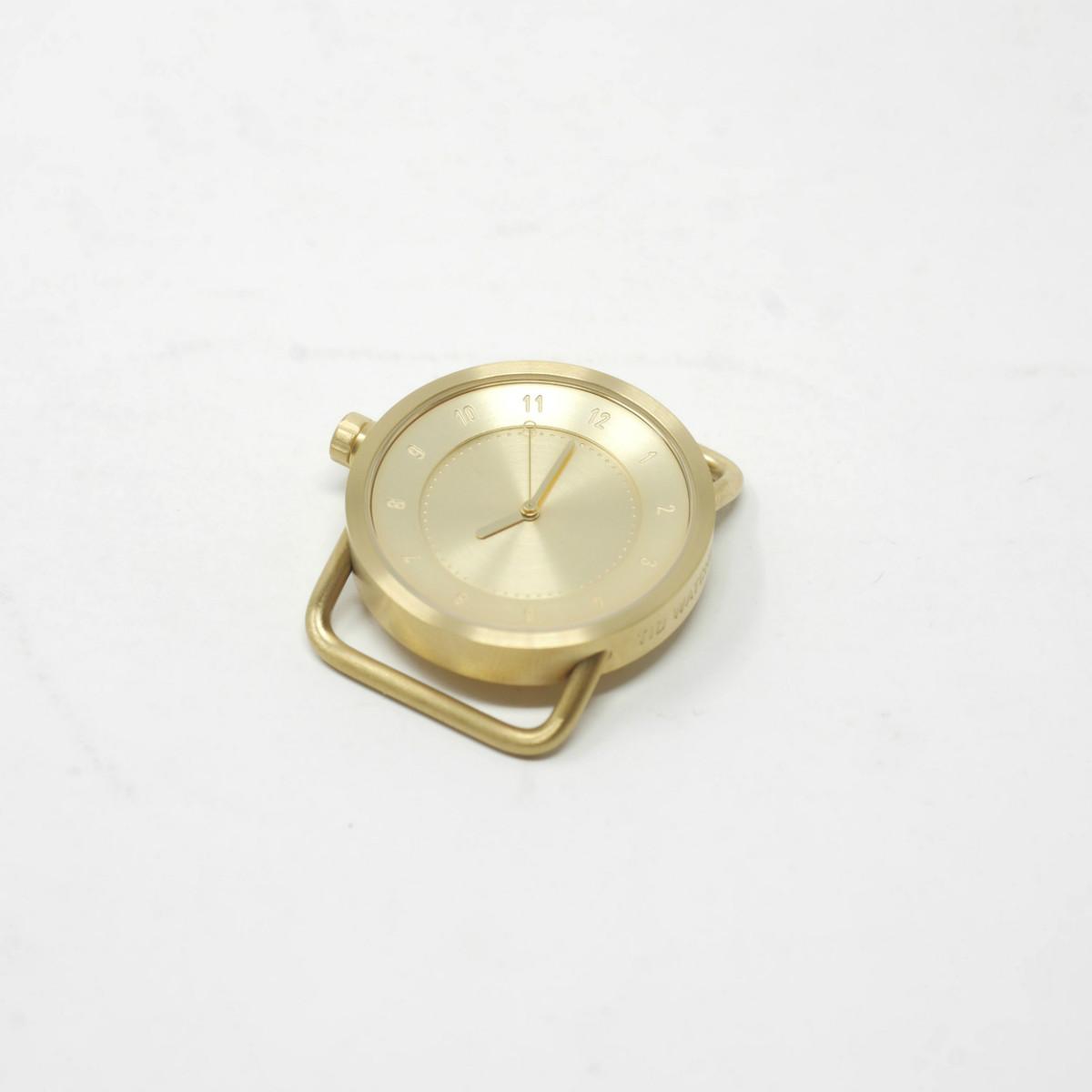 TID Watches No.1 33mm フェイス ゴールド(ティッドウォッチ)※バンド別売