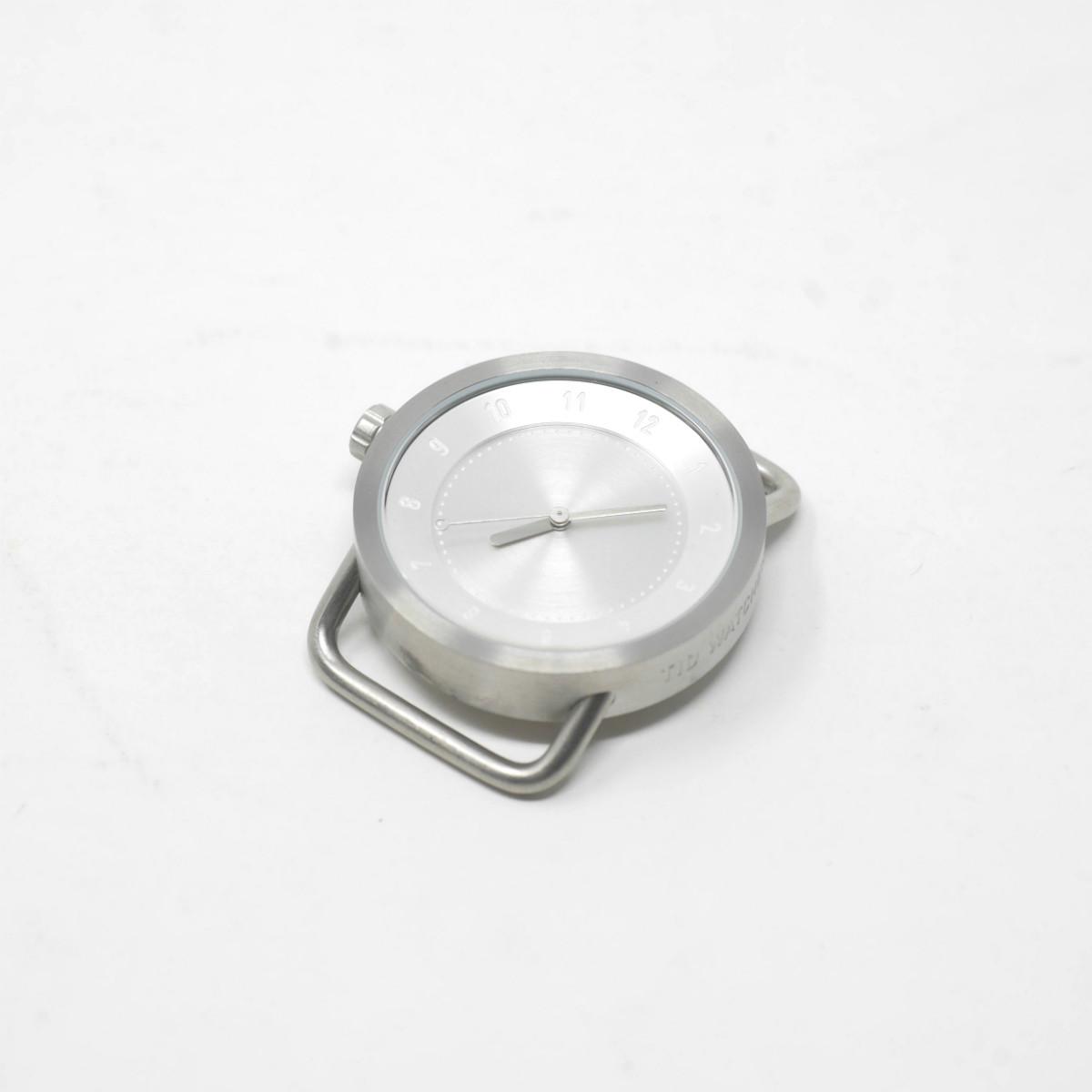 TID Watches No.1 36mm フェイス シルバー(ティッドウォッチ)※バンド別売