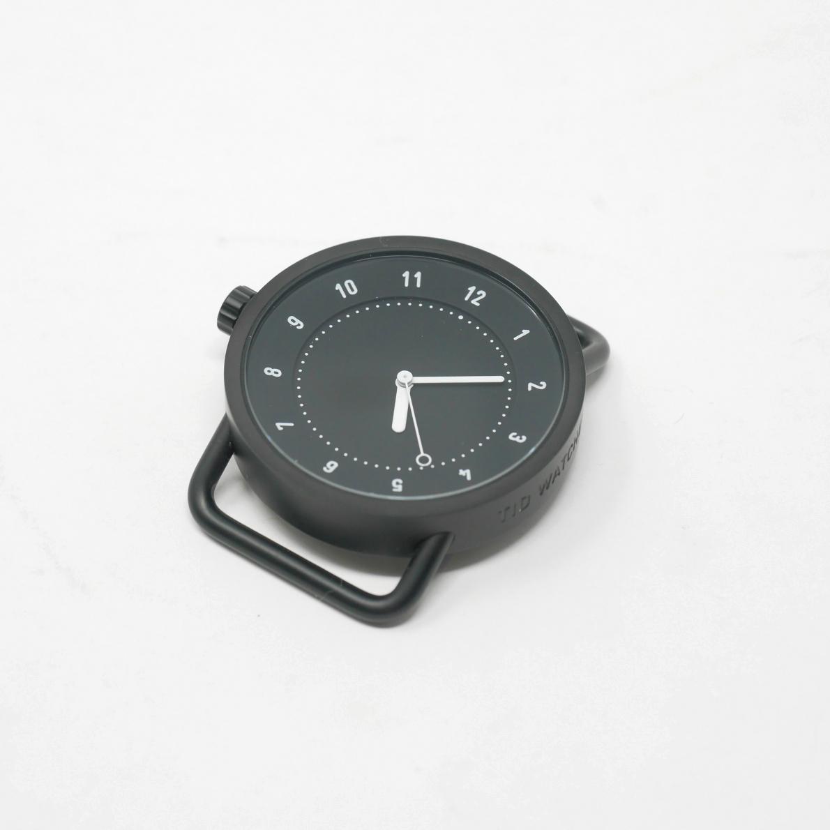 TID Watches No.1 40mm フェイス ブラック(ティッドウォッチ)※バンド別売