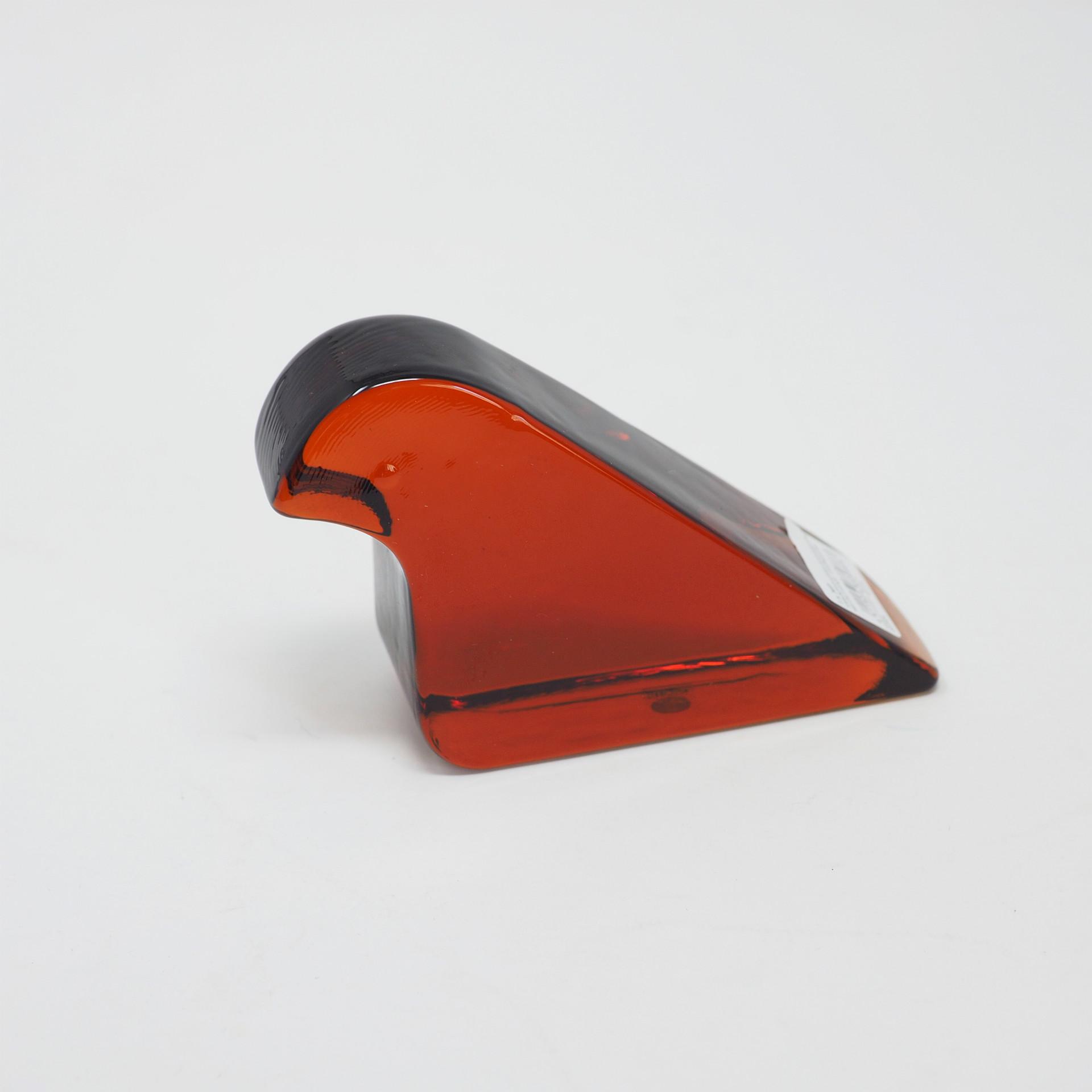 ガラスバード セビリアオレンジ Glass bird Lasilintu(イッタラ × ミナ ペルホンネン)