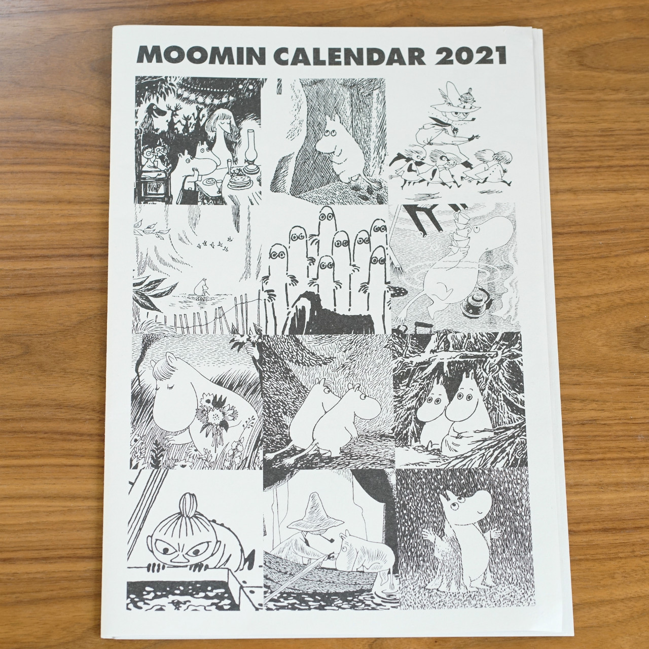 ムーミン カレンダー 2021年(メール便対応 ※カート内で配送方法の変更が必要です)