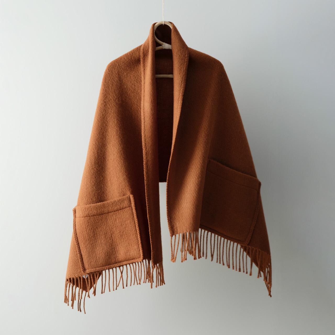 ポケットショール UNI(cinnamon シナモン)LAPUAN KANKURIT ラプアンカンクリ