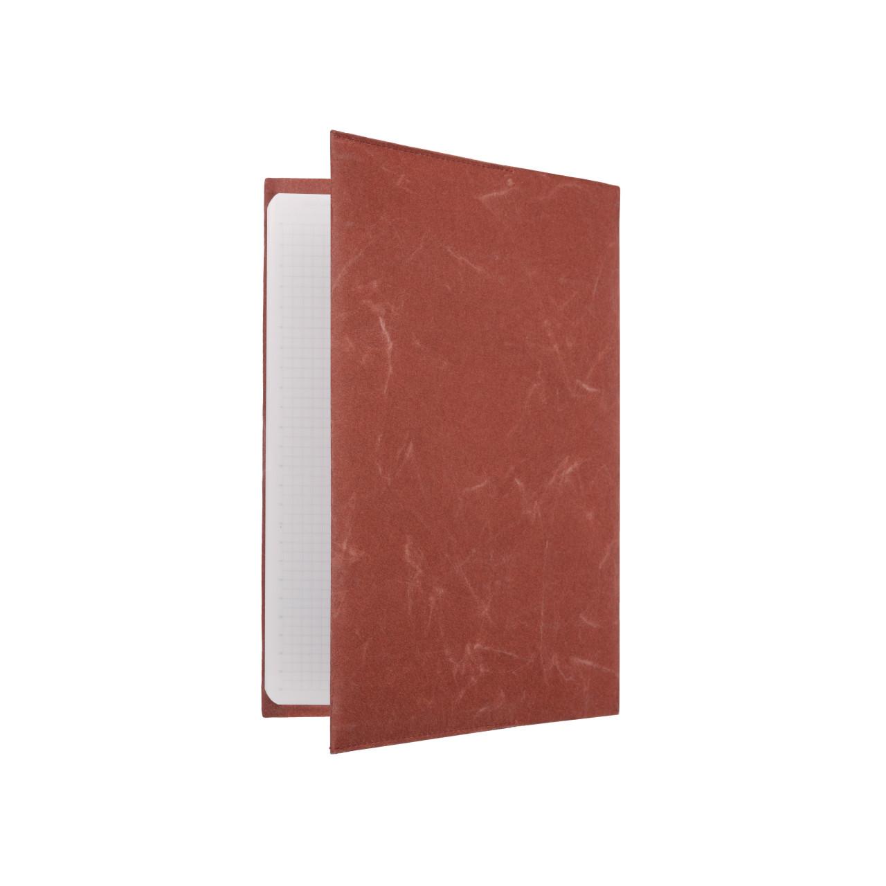 SIWA ブックカバー A5サイズ テラコッタ